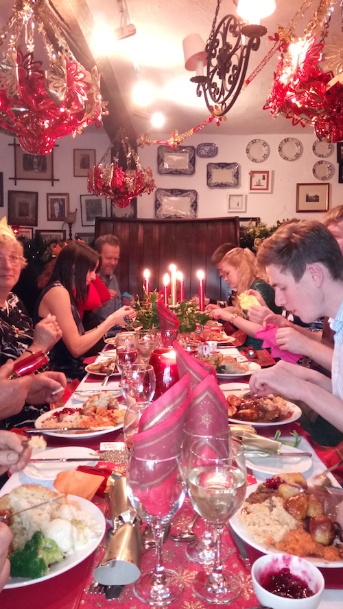 Our Family Christmas Meal at the Rectory