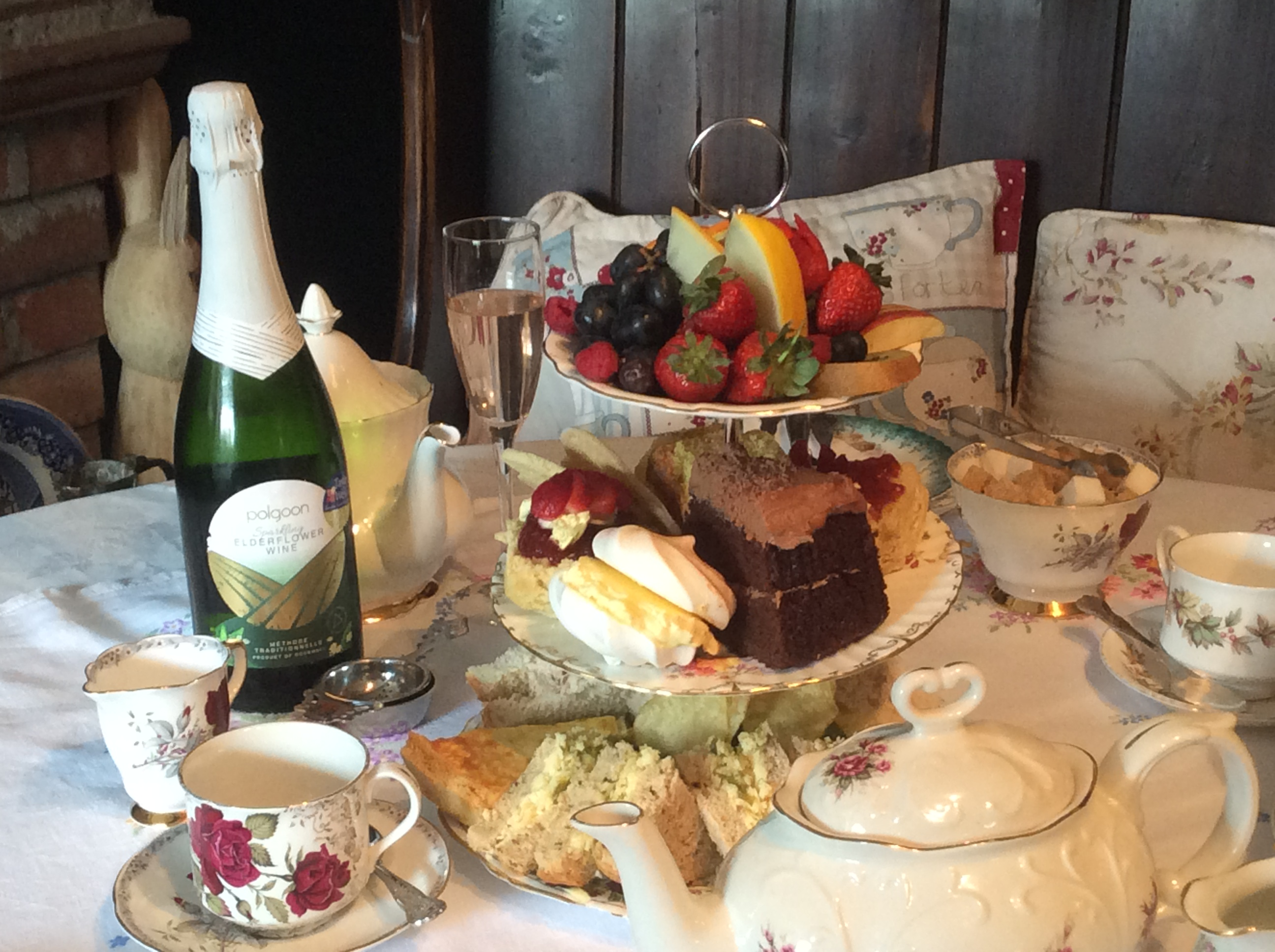 Our High Tea with Bubbly
