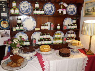 Our Delicious Cakes Table