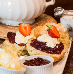 An Image of Our Traditional Cream Tea